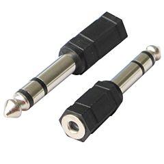 Adaptor Poss PSAUD12 jack 3.5F la jack 6.3M