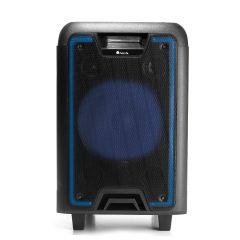 Sistem audio portabil WildMetal NGS, 120W, Card SD, Bluetooth, Radio FM, USB, Timp redare 7H