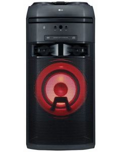 Sistem audio xBoom OK55 LG, 500W, Bluetooth, USB, Aux, CD, FM, Intrare microfon Negru
