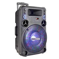 Boxa Portabila HY TS 15-TO Hyundai, cu Bluetooth, AUX, USB,Radio FM, Karaoke