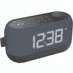 Radio ceas PSCR12 Poss, Functie Snooze, Negru