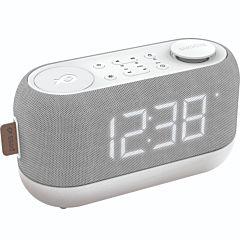 Radio ceas PSCR12 Poss, Functie Snooze, Alb