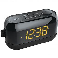 Radio ceas PSCR09 Poss, Negru