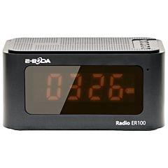 Radio ceas  ER100 E-boda, Negru
