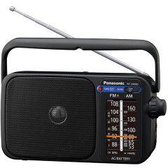 Radio portabil RF-2400DEG-K Panasonic, FM/AM, Negru