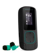 MP3 Player Clip Energy Sistem, Bluetooth, 8 GB Memorie, slot Micro SD, Radio FM, Mint