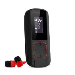 MP3 Player Clip Energy Sistem, Bluetooth, 8 GB Memorie, slot Micro SD, Radio FM, Coral