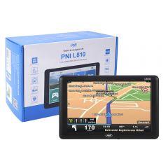 Sistem de navigatie GPS PNI L810 ecran 7 inch, harta Europei Mireo Don't Panic + Actualizari pe viata a hartilor
