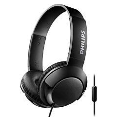 Casca over ear cu microfon SHL3075BK/00 Philips, Cablu 1.2m, Jack 3.5mm, Negru