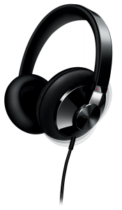 Casca over ear SHP6000/10 Philips, Hi-Fi, Cablue 3m, Jack 3.5mm, Negru