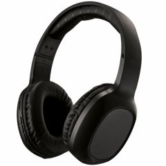 Casti bluetooth over ear PSHB169BK Poss, Negru