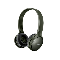 Casti bluetooth Over-Ear HF410 Panasonic, autonomie 24 ore, Verde