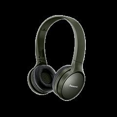 Casti bluetooth Over-Ear HF410 Panasonic, autonomie 24 ore, Verde