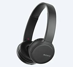 Casti bluetooth WH-CH510 Sony, 35 ore de ascultare, Negru