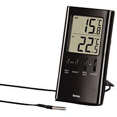 Termometru Hama T-350 LCD, Negru