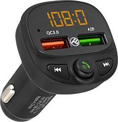 Modulator FM Bluetooth Tellur FMT-B7, Negru