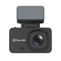 Camera auto Tellur Dash Patrol DC3, 4K, GPS, WiFi, Negru
