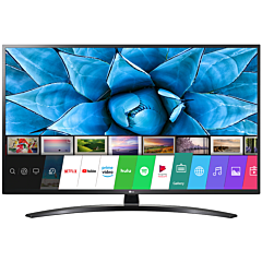 Televizor LED Smart LG 49UN74003LB, 123 cm, 4K Ultra HD, Negru