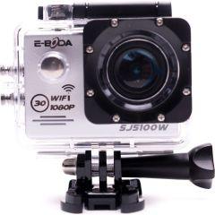 Camera video sport SJ5100W E-Boda, FullHD, Wi-Fi, Waterproof, 12MP, Gri