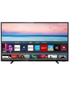 Televizor LED Smart 50PUS6504 Philips, 126 cm, 4K Ultra HD, Negru