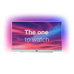 Televizor LED 55PUS7304/12 Philips Smart , 139 cm, Ambilight,  Android, 4K Ultra HD, Argintiu