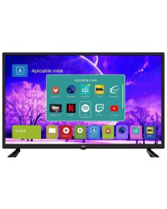 Televizor Smart LED, NEI 39NE4505, 98 cm, HD, Negru