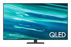 Televizor Smart QLED Samsung 55Q80A, 138 cm, 4K Ultra HD, Clasa G