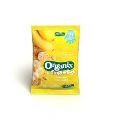 Finger rondele din orez expandat banane  50 g 7+ ECO