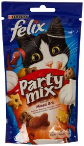 Gustari pentru pisica Mixed Grill Felix Purina 60g