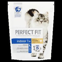Hrana uscata cu pui pentru pisici de interior adulte Perfect Fit 750g