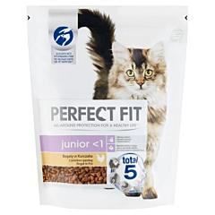 Hrana uscata pentru pisici Perfect Fit Junior 750 g