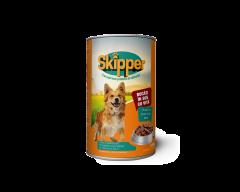 Hrana umeda cu vita pentru caini Skipper 1250g