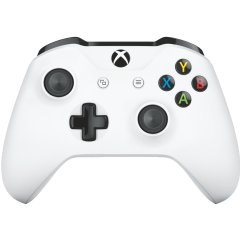 Controller Microsoft Xbox One Wireless, Alb