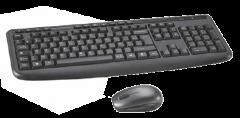Kit Tastatura + Mouse BKM37-18L Bluesky, Wireless, Negru