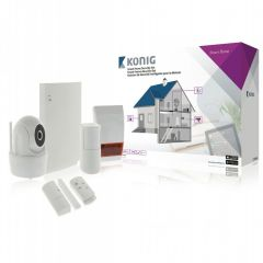 Kit Start Smart-Home Koning SAS-CLALARM10, Wireless