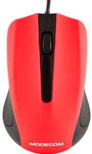 Mouse cu fir M9 Modecom, 3 butoane, Optic, Rosu