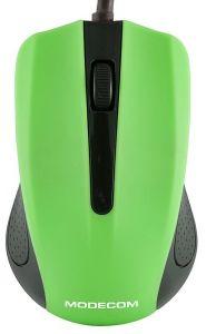 Mouse cu fir M9 Modecom, 3 butoane, Optic, Verde
