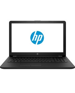 "Laptop HP 15-RA060NQ Intel Celeron N3060 pana la 2.48 GHz, 15.6"", 4GB, 500GB, DVD-RW, Intel HD Graphics 400, Negru"