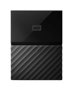 HDD extern Passport Western Digital, 1 TB, Negru