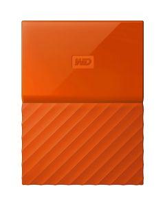 HDD extern Passport WD, 1 TB, Portocaliu