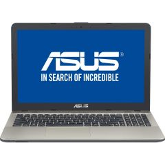 "Laptop X541UA-DM1232 ASUS, Intel Core i3-7100U 2.40 GHz, Kaby Lake, 15.6"", Full HD, 4GB, 1TB, Intel HD Graphics 620, Endless OS, Chocolate Black"
