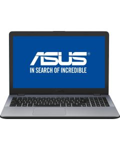 "Laptop X542UF-DM005 ASUS, Intel Core i7-8550U pana la 4.00 GHz, Kaby Lake R, 15.6"", Full HD, 8GB, 1TB, NVIDIA GeForce MX130 2GB DDR5, Endless OS, Argintiu"