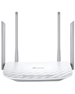 Router wireless Archer C5 V4.0 AC1200 TP-LINK Wireless Dual Band, Gigabit, USB port, 802.11ac, 4 Antene, Frecventa 2.4-5Ghz, Alb