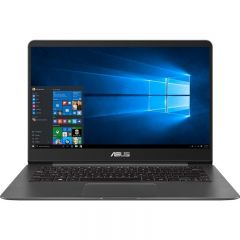 "Ultrabook ASUS ZenBook UX430UA-GV340R (Procesor Intel Core i5-8250U pana la 3.40 GHz, 14"" FHD, 8GB, 256GB SSD, Intel UHD Graphics 620, Wireless AC, FPR, Win10 Pro, Gri)"
