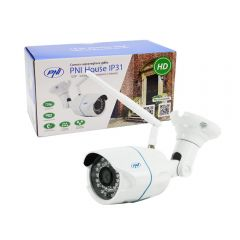 Camera supraveghere video PNI House IP31 1MP 720P wireless cu IP de exterior si interior si slot microSD