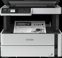 Multifunctional monocrom Epson EcoTank M2170, Inkjet, Duplex, A4, Retea