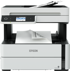Multifunctional monocrom Epson EcoTank M3140, Inkjet, 4 in 1, Duplex, A4, Retea