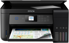 Multifunctional color Epson EcoTank L4160, Inkjet, A4, Wireless