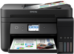 Multifunctional color Epson EcoTank L6190, Inkjet, Duplex, A4, Wireless