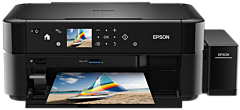 Multifunctional color Epson EcoTank L850, Inkjet, A4